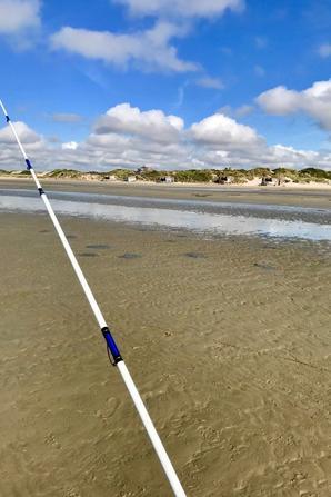 Pêche en surfcasting plage de Leffrinckoucke (13/04/19)