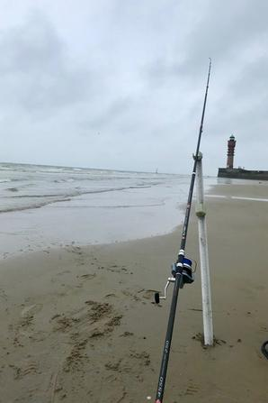 Pêcher le mulet à Dunkerque - Plage de St Pol (27/07/19)