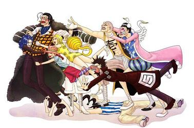 Compile d'images One Piece