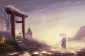 Dessins imaginaires du japon zen