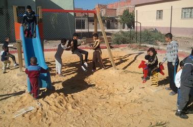Sidi Brahim : Aires de jeux pour les enfants.