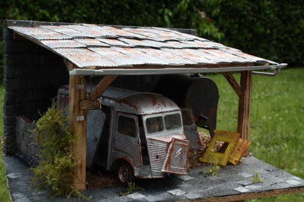 diorama vielle grange