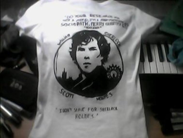 Sherlock BBC - Tony Stark T-Shirt