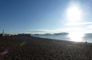 Brighton: Le Soleil, la Mer que du Bonheur!