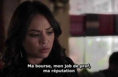 Leslie menace Mona !!! pll 6x5