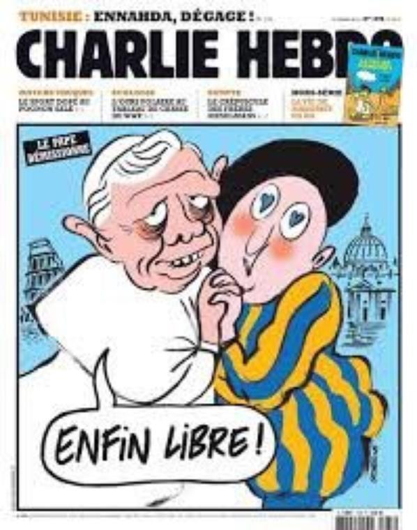 Le travail de Charlie hebdo
