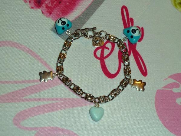 BRACELET OURS TURQUOISE