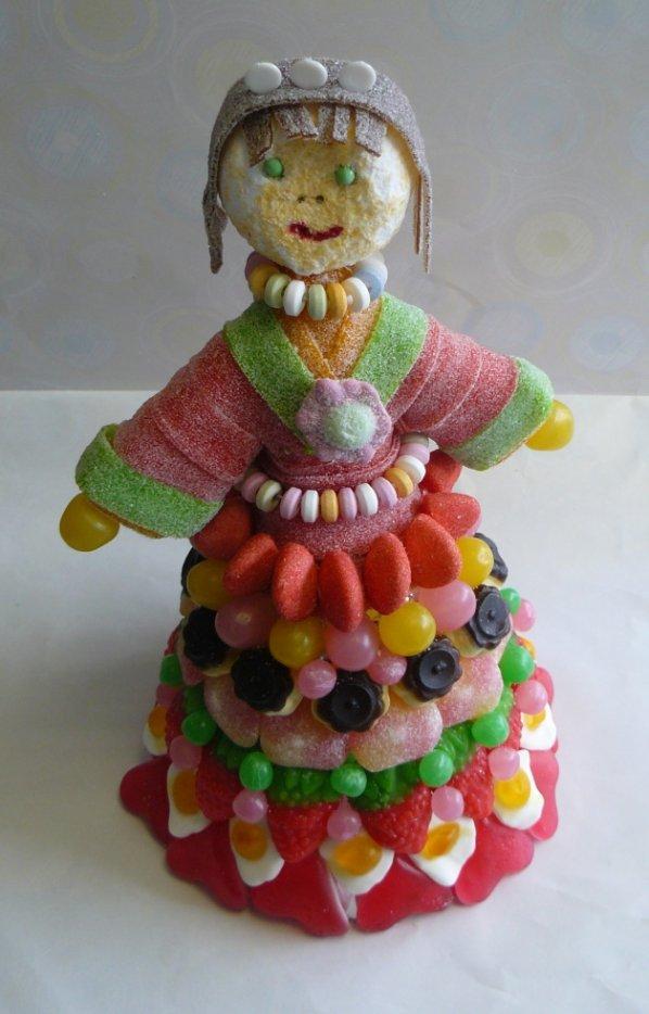 composition princesse en bonbon