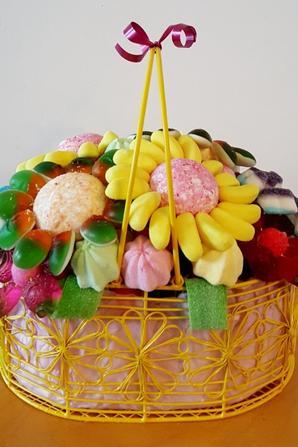 fleur en bonbon