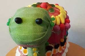 tortue en bonbon