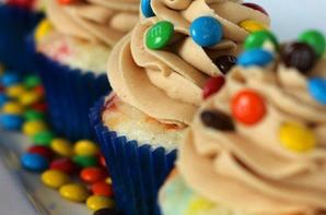 Cupcakes m&m's et cupcakes façon Oreo !