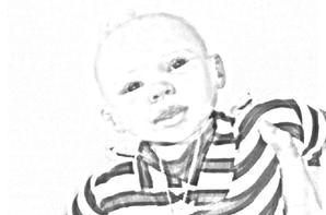 Nolan sur webcam Toy