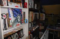 ma chambre et bibliothéque.