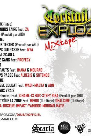 DJUBAY - Mix Tape Cocktail EXPLOZIK mixé par DJ DUTAM(2010)