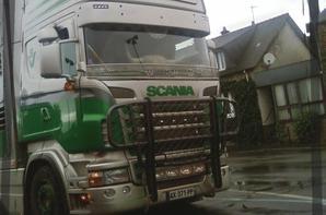 Scania R de Huet
