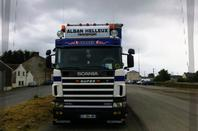 Scania R Loret et Scania Streamline Alban Helleux