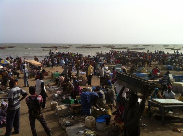 Visite du port de pêche de Mbour et de son marché