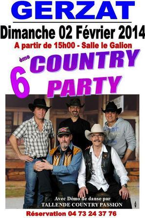 LA COUNTRY C''EST REPARTI !!!!!!!!!!!