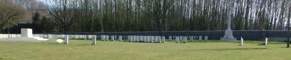 Sanctary wood cemetery  à Zillebeke « Belgique »