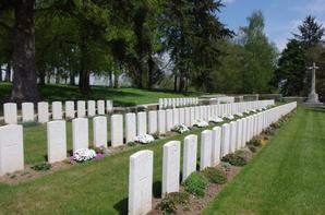 Mémorial terre-neuvien de Beaumont-Hamel : cimetières militaires   Y ravine (80)