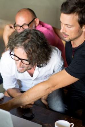 Shooting Mavi avec Florian David Fitz