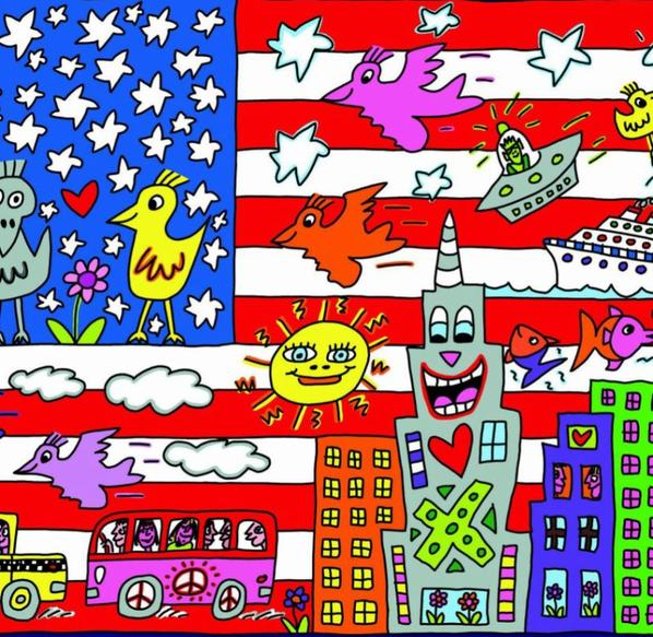 Exposition Art Blog James Rizz - American Pop Art
