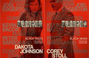 Nouveaux posters par personnages pour le film Black Mass  + Benedict dans des publicités chinoises de Dunlop