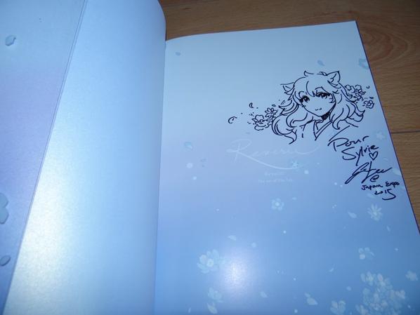 Dédicace Ein Lee - Art book Reverie