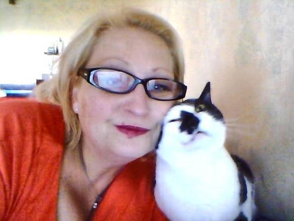 moi et mon chat de tendresse