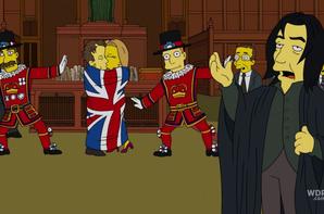 Sa voix dans Les Simpsons