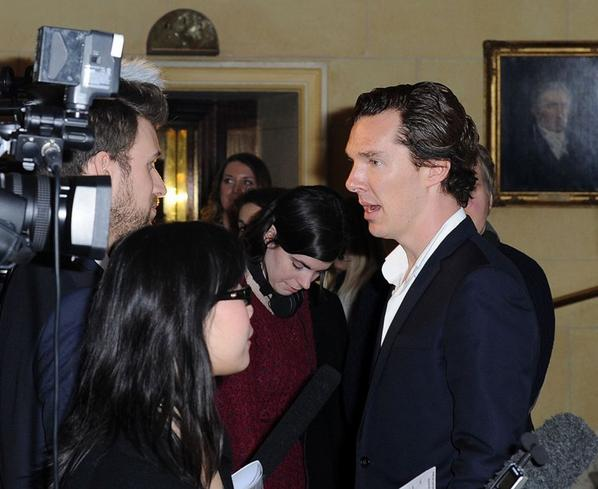 Interview - Broadcasting Press Guild Awards 2013