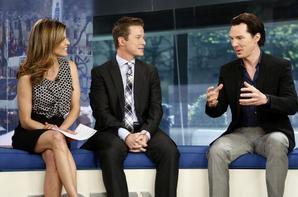 Benedict Cumberbatch au Today Show - 10 mai 2013