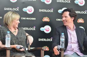 Promo Sherlock saison 3 en Grèce - Interview