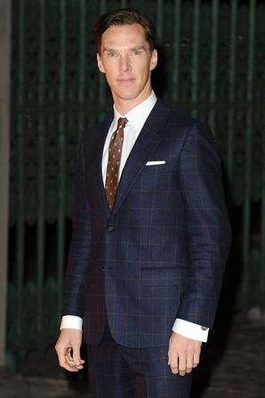 Benedict Cumberbatch au Global Fund