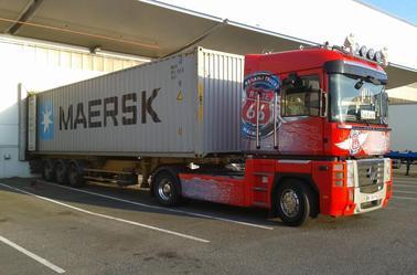 une semaine en containeur..