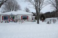 Trois-Pistoles et notre-dame-des-neiges ( chez ma mère)