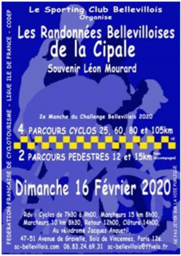 Dimanche 16 Février 2020 : La CIPALE marche