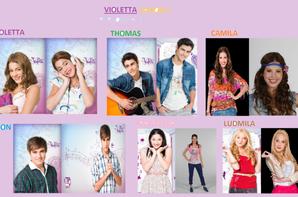 Les personnages de violetta saison 1 bienvenue sur - Violetta saison 2 personnage ...