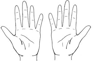 tuto pour les mains  manga