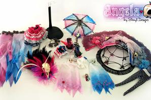 ~♥ Pullip Angela Par Sheryl design ♥ ~