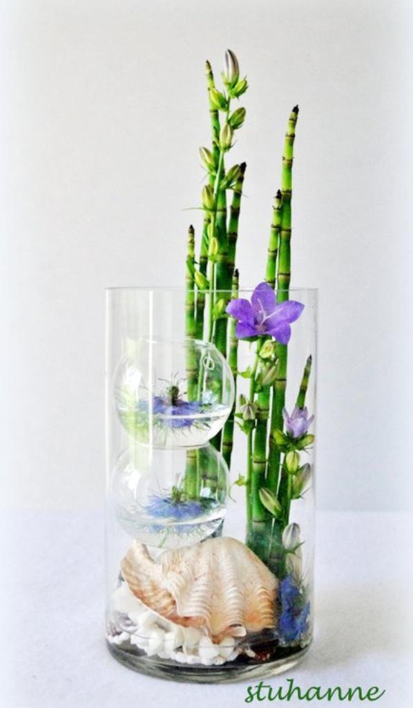 bulles d 39 eau concours du magazine atelier floral art. Black Bedroom Furniture Sets. Home Design Ideas