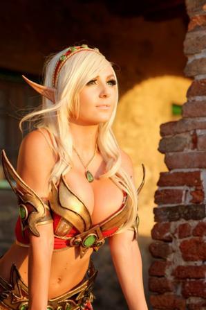 Cosplay de Blood Elf (World of Warcarft)