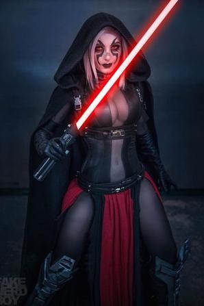 Cosplay de Sith (Star Wars)