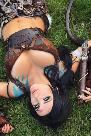 Cosplay de Khal Drogo (Games of Thrones)