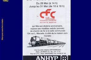Mon parcours ferroviaire  1992 b