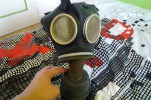 lot masque à gaz français.