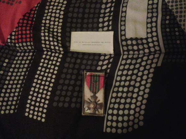 croix de guerre.