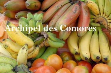 Un petite aperçu des  fruits  Comoriens