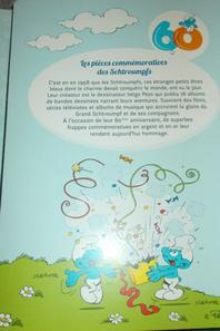 SUPERBE PIÈCE DE SCHTROUMPFS