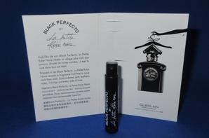 ✿ Guerlain 🌸  LA PRN - BLACK PERFECTO 🌸 échantillon ✿